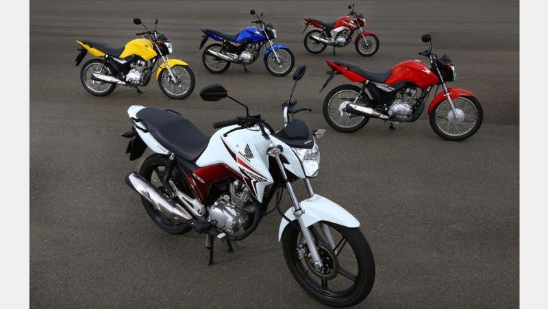Queda nas vendas de motos no 1º semestre
