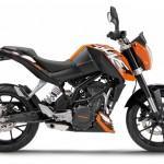 KTM 200 Duke será vendida no Brasil em setembro