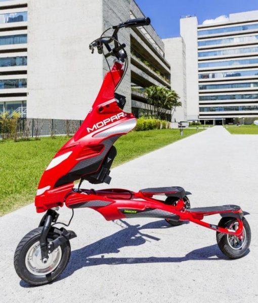 Triciclo elétrico Mopar Trikke será lançado no Brasil