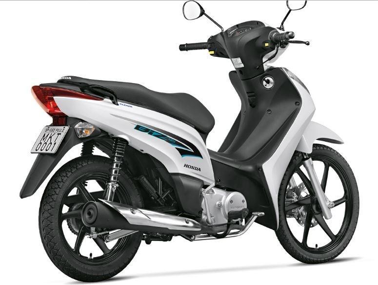 Honda Biz 2016 foi atualizada e ganhou novo grafismo