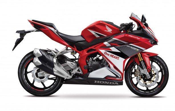 Honda lançou a nova motocicleta CBR 250 RR