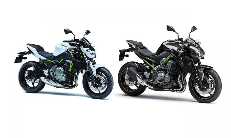 Kawasaki Z650 e Z900 – Informações sobre as novas motos