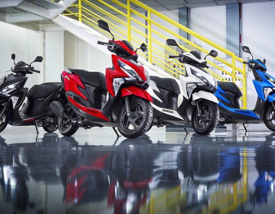 Nova Scooter Honda Elite 125 2019 • Preço Motos